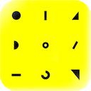 iMotionClock 1.0 [iPhone] [iPad] 〜 図形を組み合わせて、時を表現するデジタル時計アプリケーション