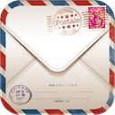 Postale 2.2.0 [iPhone] [iPad] 〜 「Gallery」に保存した絵葉書の再編集が可能に、旅先の消印を捺した絵葉書を簡単に作成できる
