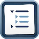 Cloud Outliner 1.9 [iPhone] [iPad] 〜 iCloud に対応しデバイス間で同期可能、シンプルなアウトラインプロセッサ