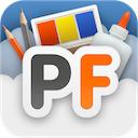 PhotoFunia 3.0 [iPhone] [iPad] 〜 Twitter・Facebook での共有機能を追加、アップロードした画像からユニークな合成写真を作成する