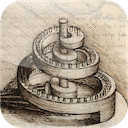 Leonardo Interactivo 1.0 [iPad] 〜 レオナルド・ダ・ヴィンチの「マドリード手稿」を iPad でインタラクティブに閲覧できる