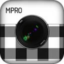 MPro 1.4.3 [iPhone] [iPad] 〜 ライブプレビュー機能を搭載し、非圧縮 TIFF フォーマットでも保存できるモノクロ写真に特化したカメラ