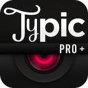 Typic Pro 1.4 [iPhone] 〜 テキスト/ラベルの回転が可能に。数ステップで欧文フォントをレイアウトしたおしゃれな写真に加工できる