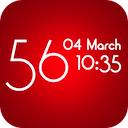 clock designer 1.0 [iPhone] 〜 フォント/サイズ/カラーをカスタマイズして、好みのデジタル時計をデザインする