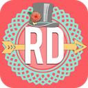 Rhonna Designs 1.1 [iPhone] [iPad] 〜 デザインフォント/フレーム/デザイン素材を用いて、おしゃれな写真に加工できる
