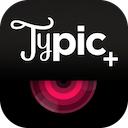 Typic+ 3.0 [iPhone] 〜 オプションでオリジナルロゴを使用可能に、欧文デザインフォントをレイアウトしたおしゃれな写真を作れる