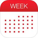 Week Calendar for iPad 7.0 [iPad] 〜 iPhone 版で先行していたフラットデザインを採用、イベントごとにカスタム色を指定できるカレンダー