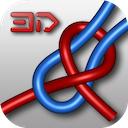 Knots 3D 4.0.2 [iPhone] [iPad] 〜 3Dアニメーションを見ながらロープや紐のさまざまな結び方を学ぶことができる