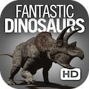 Fantastic Dinosaurs HD 1.5 [iPad] 〜 360度回転できる想像図も収録、130種の恐竜の情報を収録した恐竜百科事典
