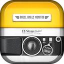 INStanPocket 3.0 [iPhone] 〜 4インチディスプレイモデルに撮影の幅が広がるカラーフラッシュを搭載、アナログ感覚で遊べるトイデジタルカメラ